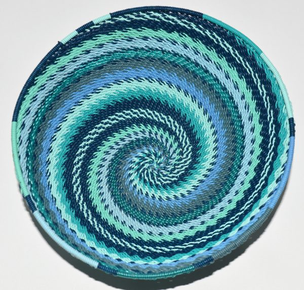 Wired basket Zulu art